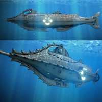 3d voyage nautilus model