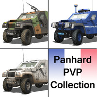 3d model panhard pvp -