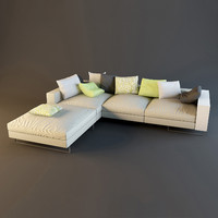 sofa lightpiece design flexform max