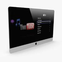 3dsmax apple plasma tv