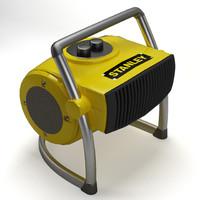 3d model heater