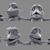 free animation 3d model
