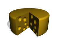 free cheese 3d model