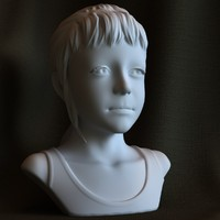 "3d printable sculpture ""Sarah"