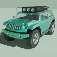 jeep willys 2 3d model