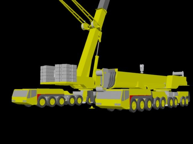Mobile Crane Cad Block : Mobile crane ac dwg