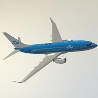 max boeing 737-700 klm
