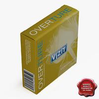 box vizit 3d model