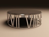 eichholtz table coffee roman 3d 3ds
