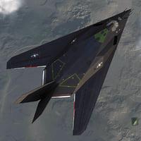 3d realistic f 117 nighthawk