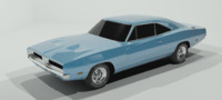 3dsmax dodge charger 1969