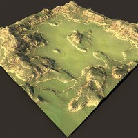 Gamelevel terrain2