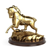 horse statue sculpture max