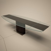 Cattelan Italia Rodeo Drive Extending Glass Dining Table