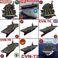 USS Supercarriers Collection
