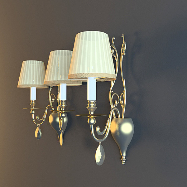 3d masiero emme pi light model - Masiero Emme Pi Light sconce (2 models pack)... by Val97