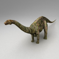 Apatosaurus Animated