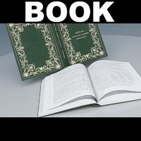 open book obj
