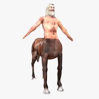 3d greek centaur model