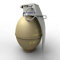 Grenade frag m26