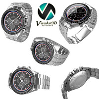 3d omega speedmaster watches model