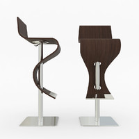 3d viva bar stool chair