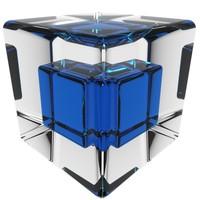 3d model of cube loader