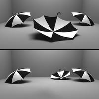 umbrella 3d max