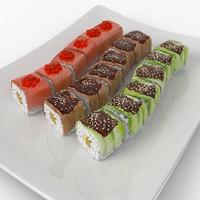 Sushi Dragons