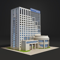 3ds max hangzhou capital star hotel