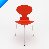 3d ant chair arne jacobsen