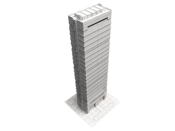 skyscraper 3ds - skyscraper... by vegaart