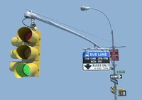 nyc traffic light signal ma