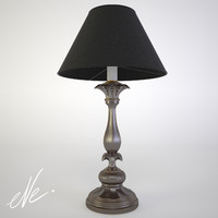3d model chelini table lamp febp
