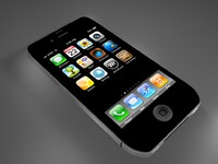 free iphone 4s 3d model