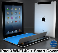 iPad 3 Wi-Fi 4G + Smart Cover