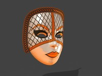 Venetian Carnival Mask 13