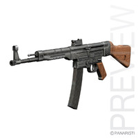 Sturmgewehr 44 - MP44 - German Assault Rifle