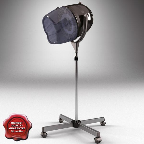 Maya salon stand hair dryers for Salon stand