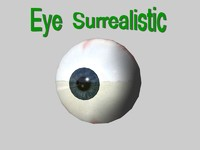 Eye surrealistic