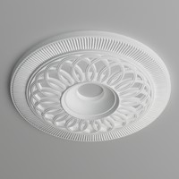 Ceiling medallion008