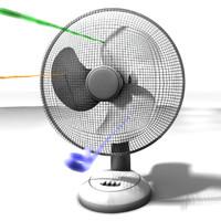 fan wind 3d model
