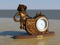 bronze clock max