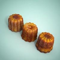 3d model cake dessert pastry