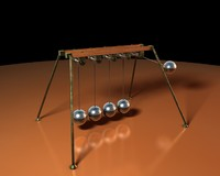 c4d newton cradle mograph physics