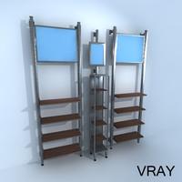 Vertical Retail Racks