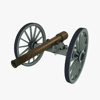 Parrott 10lb Rifle (Civil War cannon)