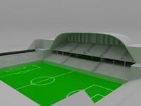 stadium 3d c4d