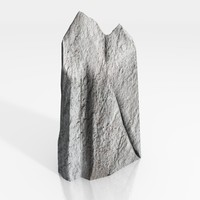 maya stone rock spike