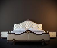 classic bed grande 3d max